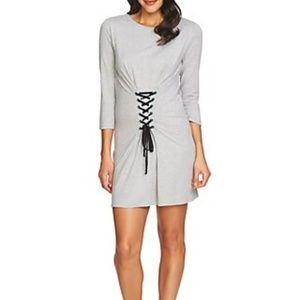 1. State Jersey Knit  Millennial Grey Dress Large